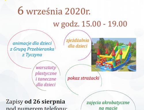 Dzień otwarty w Domu Ludowym w Borku Starym – 06.09.2020r.