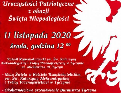 Święto Niepodległości – 11 Listopada 2020r.