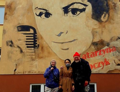 Mural z wizerunkiem Katarzyny Sobczyk!