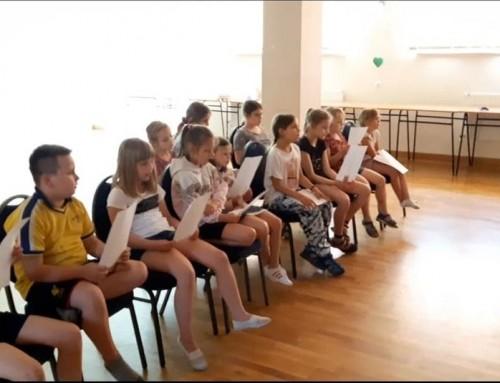 Warsztaty wokalne dla dzieci w Domu Ludowym w Hermanowej
