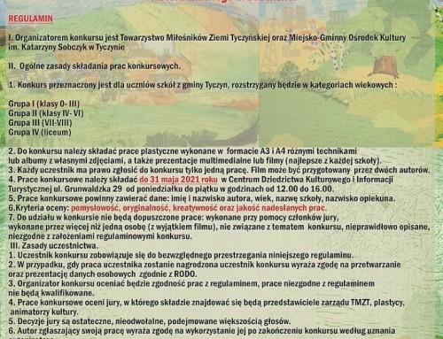 """Regulamin konkursu """"Piękno naszej Ziemi Tyczyńskiej"""""""