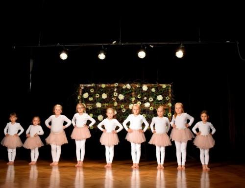 Zdjęcia z występów dziecięcych zespołów tanecznych z okazji Dnia Matki