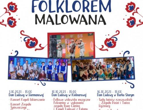 Polskość Folklorem malowana – koncerty i odsłonięcia murali